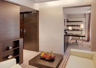 Suite Livingroom Radisson Blu Hotel Leipzig 1600x750